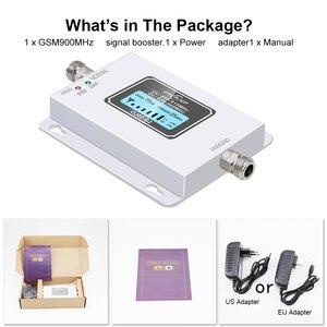 Image 5 - GSM 900 Mhz répéteur Band8 70dB affichage à cristaux liquides GSM 900 Mhz 2G 3g amplificateur de répéteur de Signal de téléphone portable cellulaire