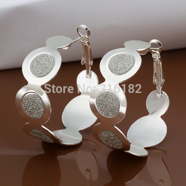 Nice Jewelry Frugal Wholesale Fashion Jewelry Earrings 925 Silver Earrings Good Quality Ee466