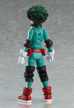 323 Anime My Hero Academia Character Midoriya Izuku Figma Action Figure Collection Model Toys