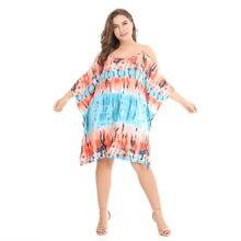 dfb87cc6a Asmpin 2018 Moda Praia Verão Vestido Estampado Floral Havaí Causal Chiffon Off  Ombro Estilo Boho Mulheres Sexy Vestido Vestidos