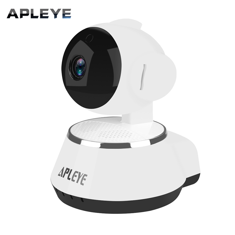 APLEYE 720P Wireless IP Camera IR-Cut Night Vision WIFI Network P2P Baby Monitor CCTV Security Home Indoor Camera howell wireless security hd 960p wifi ip camera p2p pan tilt motion detection video baby monitor 2 way audio and ir night vision