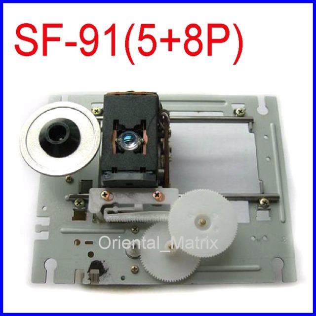 Frete Grátis Original SF-91 Optical Pick Up Mecanismo (5 + 8 Pinos) SF91 Assembléia Lens Laser CD Para BOSE CD-3000 Optical Pick-up