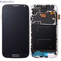 Highbirdfly For Samsung Galaxy S4 I9500 I9505 I337 Lcd Screen Display Touch Glass Digitizer Can Not