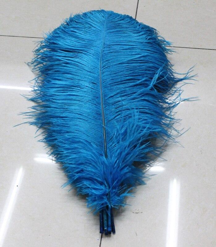 bd08ac2a66b0 ▽10 pcs naturel royal Lac bleu plumes d autruche 30 à 35 cm 12 à 14 ...