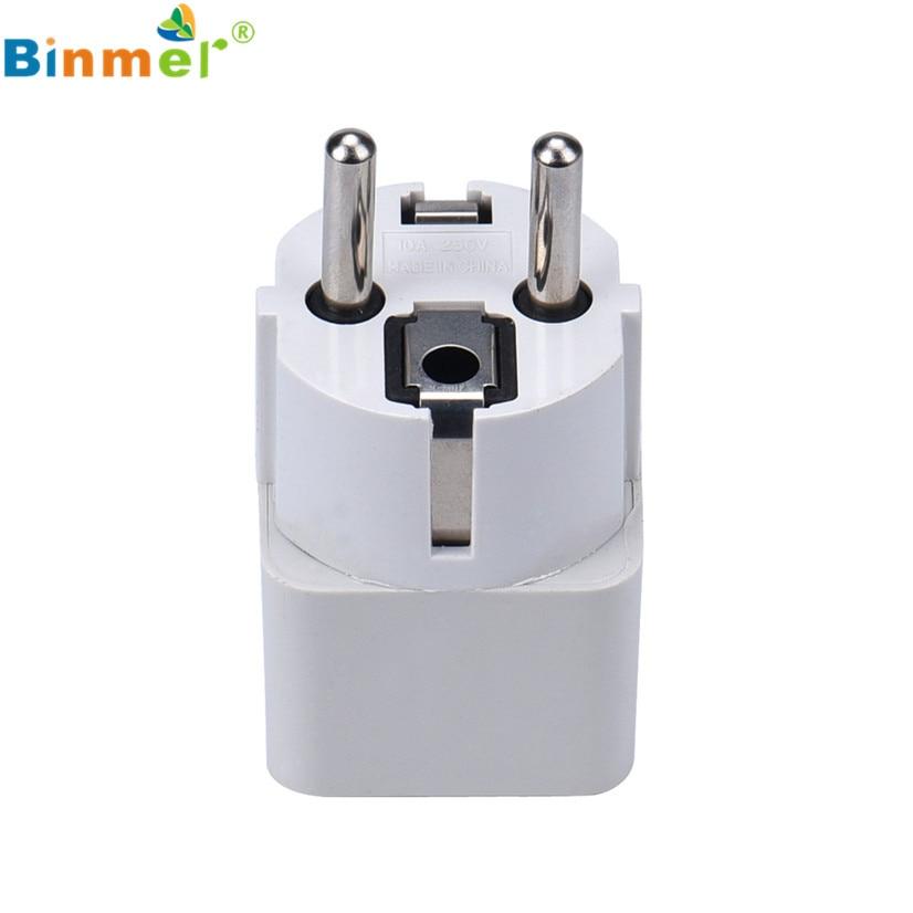 Factory Price Binmer Hot Universal UNITED KINGDOM USA EU AU Travel Plug Socket Plug AC Power Adapter Converter Drop Shipping