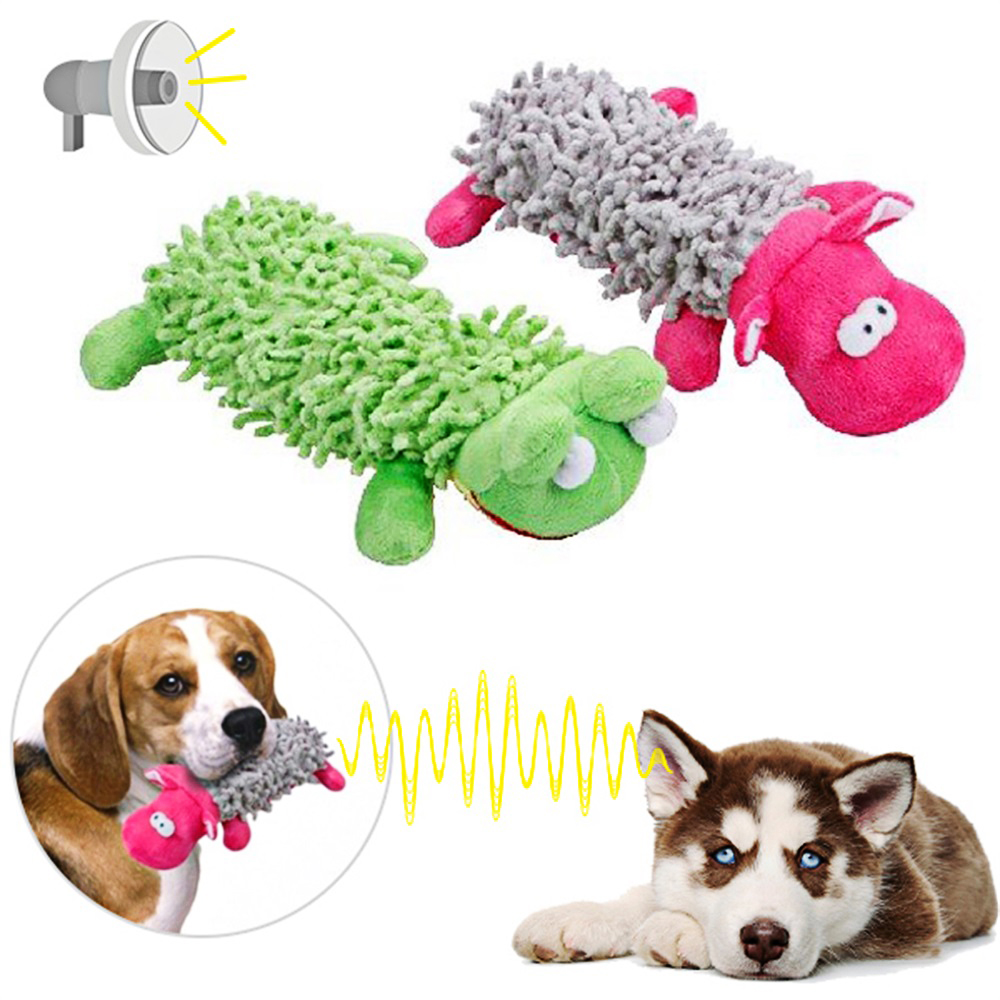 Hoomall Pet Dog Funny Squeaking Stuffed Plush Cute Toys