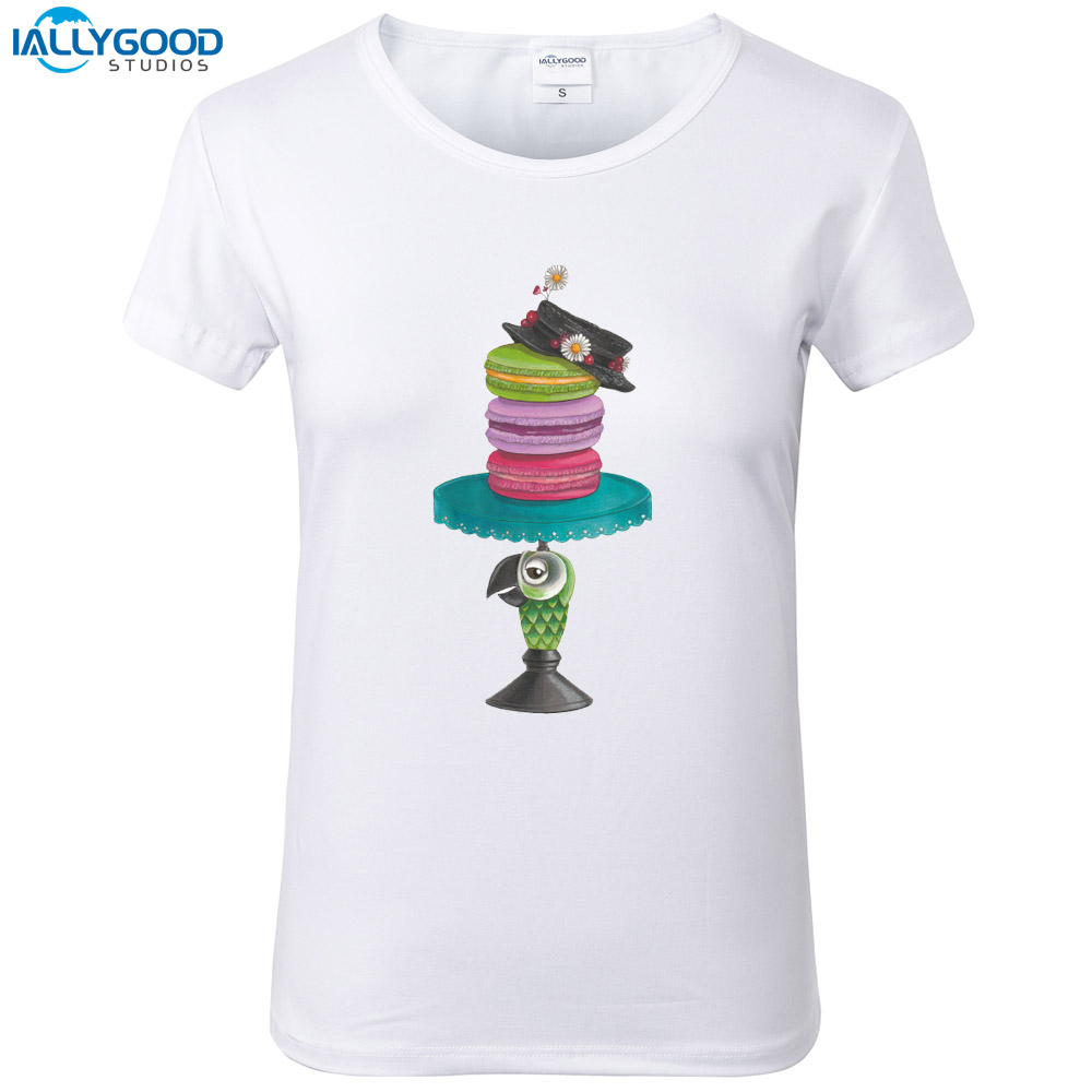 Summer Funny Mary Poppins T Shirt Women Cool Printed T