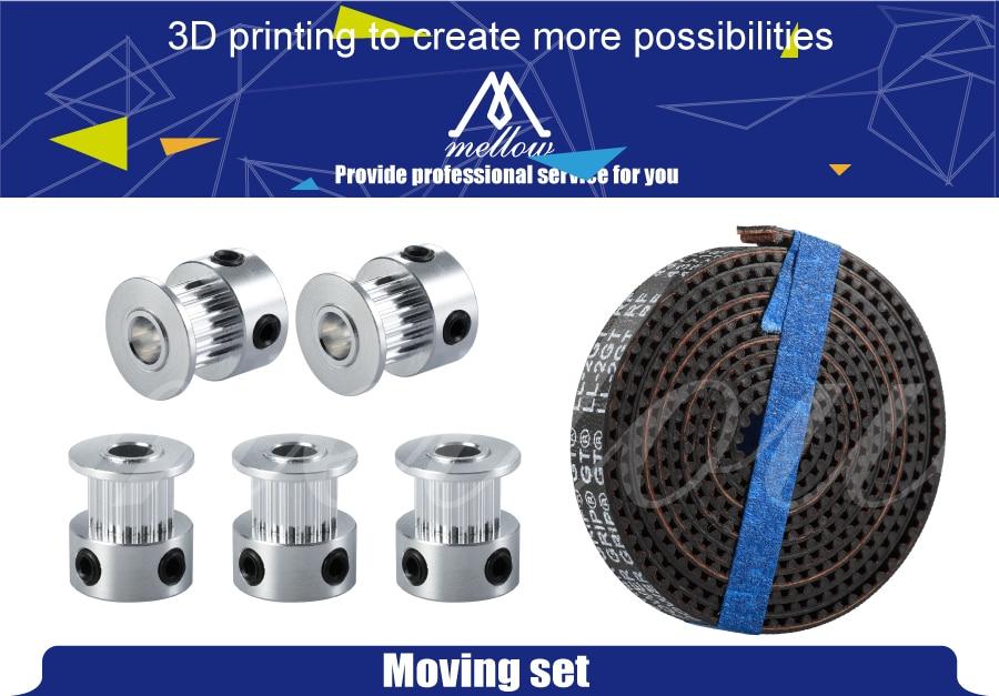 Acessórios da impressora 3d 5 pçs 16