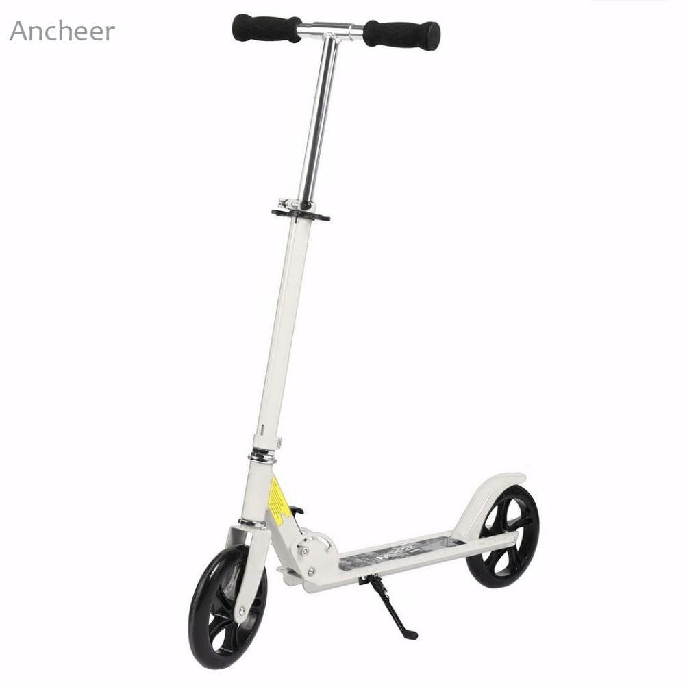 ANCHEER New Brand Height Adjustable Foot Scooter For Adult Foldable Kick Scooter Kick Scooter Patinete Adulto envy ats dirt scooter red brand new complete