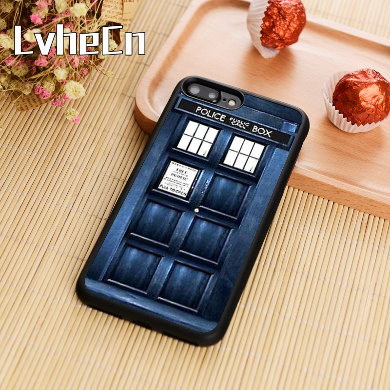 Phone Bags & Cases Lvhecn Tpu Skin Phone Case Cover For Iphone 5 5s Se 6 6s 7 8 Plus X Xr Xs Max Doctor Who Police Box Tardis Cellphones & Telecommunications