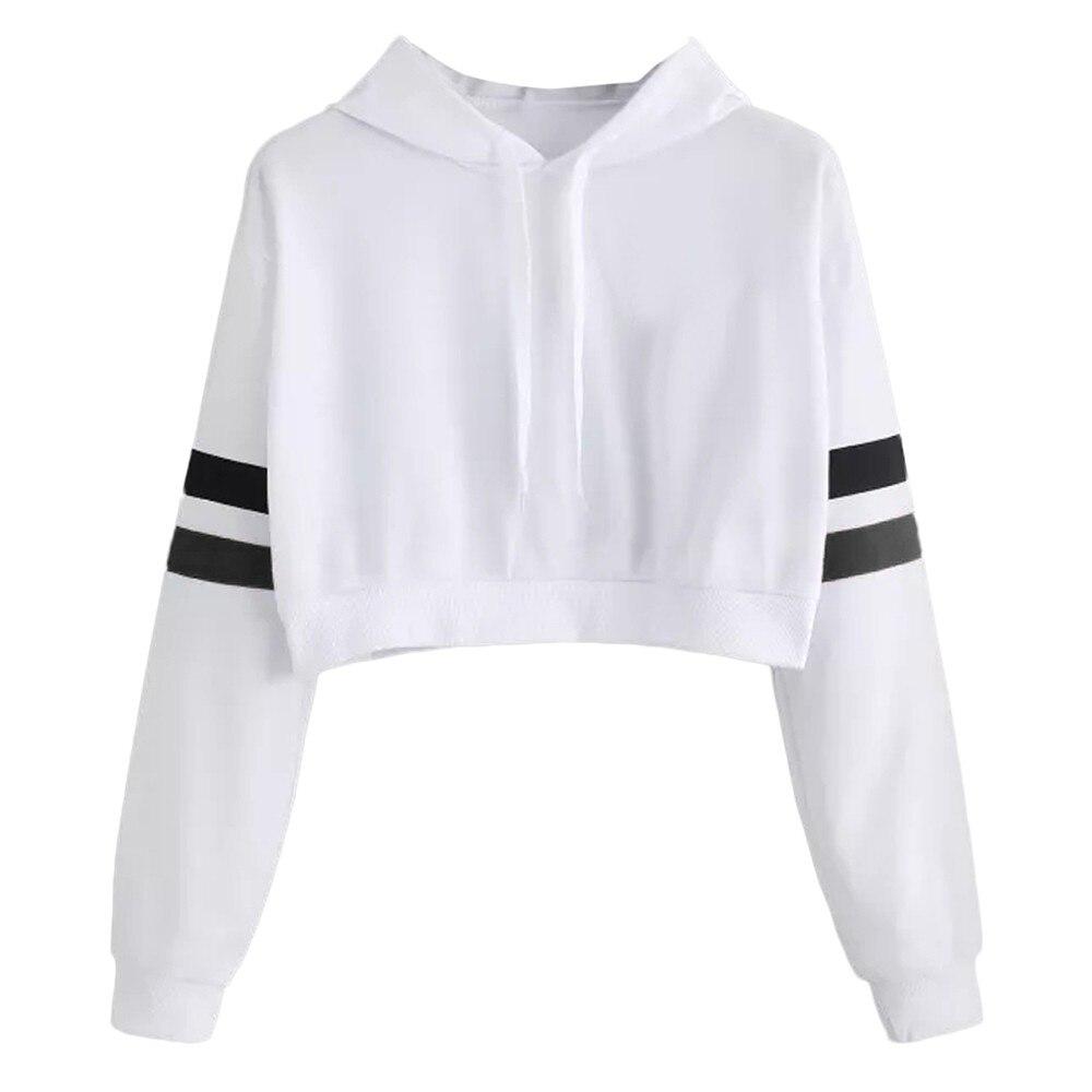 ▼Londony▼ Sweatshirts for Women,Newest Lace Patchwork Hem Long Sleeve Hoodie Sweatshirt Autumn Pullover Tops