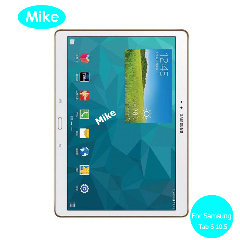 For Samsung Galaxy Tab S 10.5 Front Tempered Glass screen Protector 9h Safety Protective Glass On TabS SM T800 T805 T 800 805