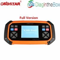 OBDSTAR X300 PRO3 Key Master Full Package Configuration Immobiliser Odometer Adjustment EEPROM/PIC X300 Pro Better Than SKP900