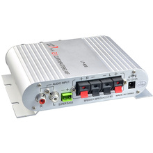 Мини Lepy LP-838 автомобиль 3-канальный Усилитель Стерео Mega Bass 12 В Hi-Fi соединение с телефоном PC DVD плеер MP3 MP4 Портативный сабвуфер