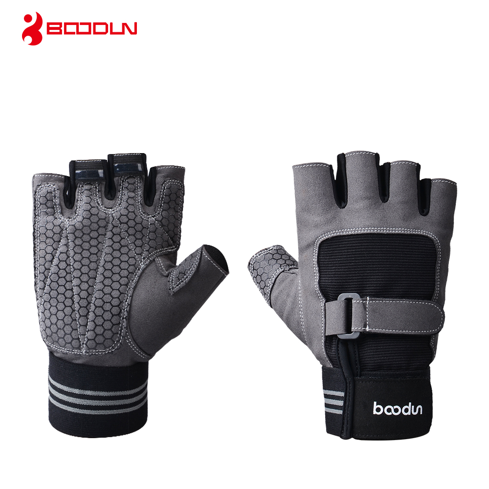 Dedicated Boodun Weight Lifting Gym Men Sports Fitness Workout Exercise Training Protect Gloves In Pain