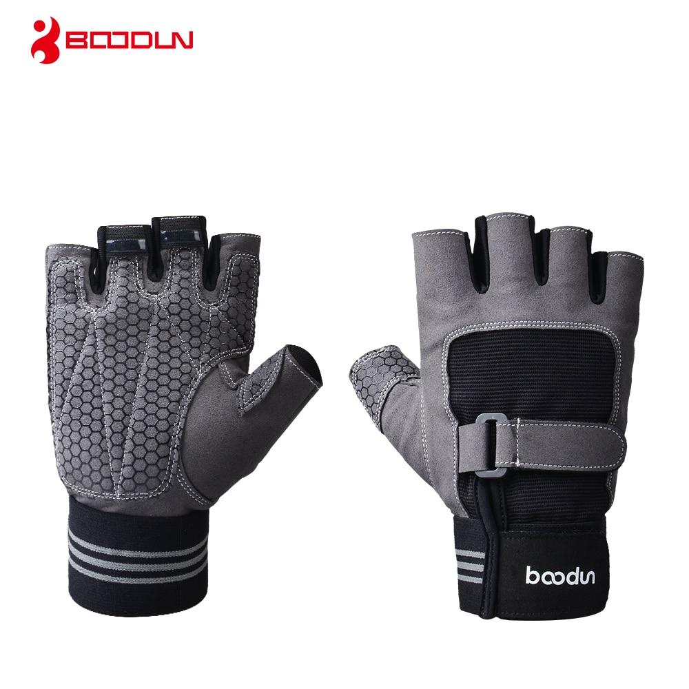 Boodun musculation Gym hommes sport Fitness entraînement entraînement entraînement protéger gants