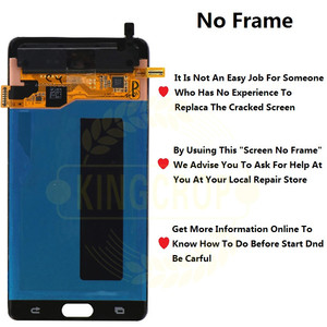 Image 2 - Super AMOLED For Samsung Note Fan Edition FE Note 7 N930F N935F LCD display touch screen digitizer AssemblyFor Samsung Note7 LCD