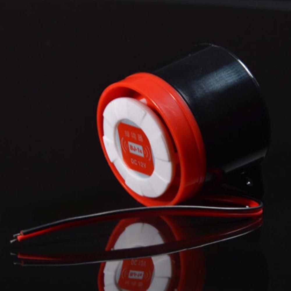 FORECUM 100db Wired Mini Sound font b Alarm b font Siren Horn Sensor Detector DC 12V
