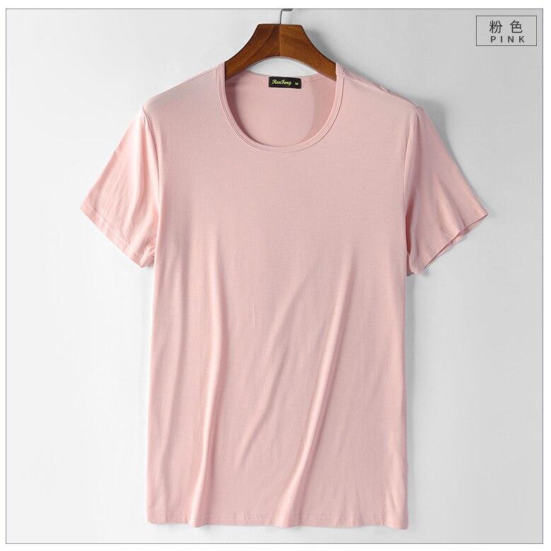 2018 Summer New Heavy Streetwear Solid Cotton Mens T Shirts Depeche Mode Style Brand Tee Shirt Homme Slim camiseta (8)