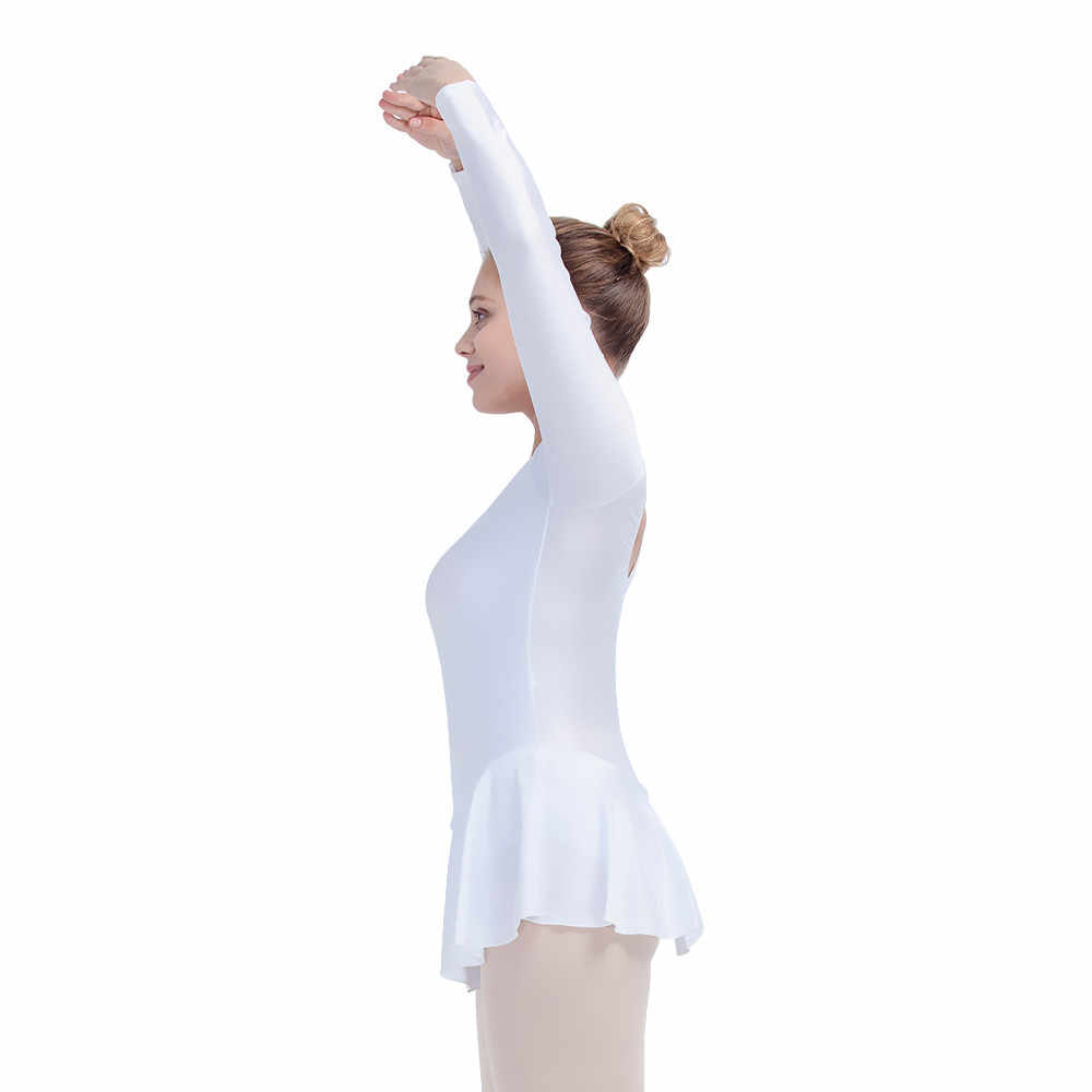 c07b158c19a7 Detail Feedback Questions about White Shiny Nylon Lycra Long Sleeve ...