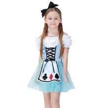 Millyn Halloween Cosplay princesa dress Girl vestidos sueño Alice niños  traje 035 0eac8eb88af