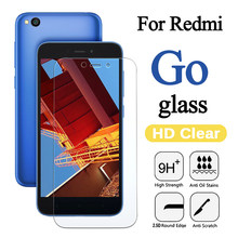 Protective Glass On The For Xiaomi Redmi Go Screen Protector Ksiomi Xiami go safety Xaomi Xiomi xiaomei saver original tempered(China)