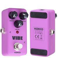 KOKKO FUV2 Mini Pedal Vibe Analog Rotary Guitar Speaker Effect