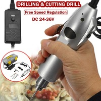 Doersupp Portable AC100 240V Mini Micro S030 Electric Hand Drill Adjustable Variable Speed Electric Drill Power