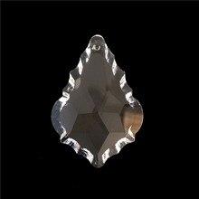 Цена, AAA 50 мм(192 шт./лот) Подвеска из хрустальной люстры/хрустальные подвески на шторы, кристаллы части для люстры