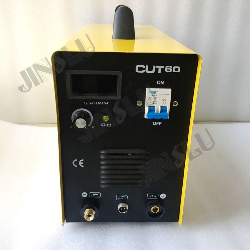 CUT60 CUT-60 220V Air Plasma Cutting Machine Inverter MOSFET Cutter Machine Single Phase cut 60 lgk 60 inverter air plasma cutter three phase ac380v plasma cutting machine