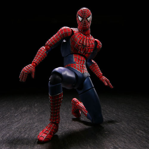 Série N ° 039 Spider-Man Spiderman PVC Action Figure Collectible Modelo Toy 13.5 cm KT2527 Variável