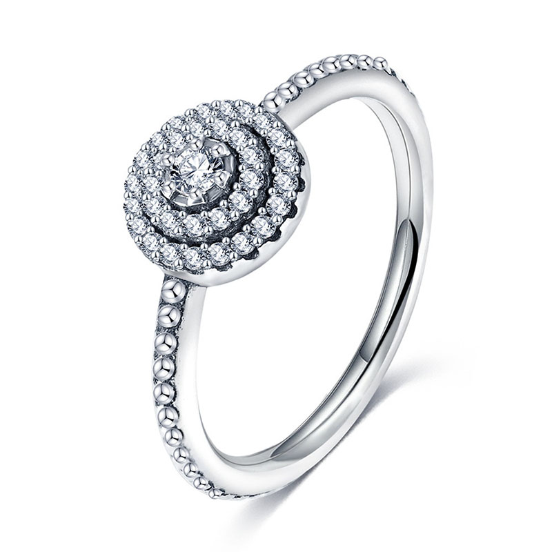 2018 Antique 925 Sterling Silver Rings With AAA Zirconia Women Rings Aliexpress Hot Selling