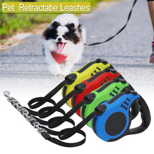 Automatic Retractable Dog Leash for Walking/ Running  Nylon Pet Leads Small/Large Dogs Products 3M/5M