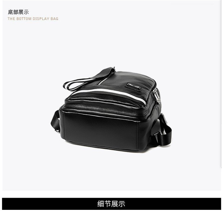 4 color  backpack 2019 new casual top layer leather shoulder bag female  B54439 190416 yx4 color  backpack 2019 new casual top layer leather shoulder bag female  B54439 190416 yx