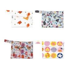 mini wet bag waterproof maternity bag or menstrual pads breast pad nursing pad reusable snack bags