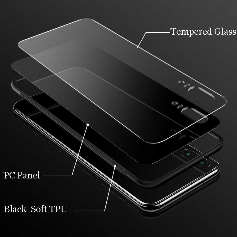 Desxz Glas Telefon Fall Für Huawei Mate Ehre 8X 9 10 7A 20 P30 P20 P10 Lite Pro P Smart abdeckung Tasmanian Teufel Taz Tasche