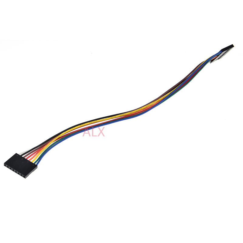 10x 8P 20cm 2.54mm Female to Female Jumper Wire Dupont Cable for Arduino