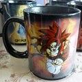 Dragon ball z Gogeta Super Saiyan кружка Керамическая Кофе Чай Молоко Горячий Холодный Теплочувствительная Изменение Цвета Кружка
