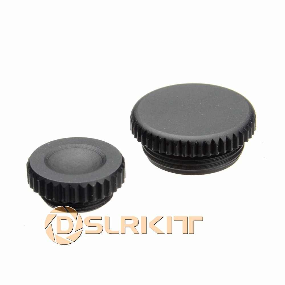 DSLRKIT (Terceiros) Remoto + Flash PC Sync Terminal Cap Cover SET