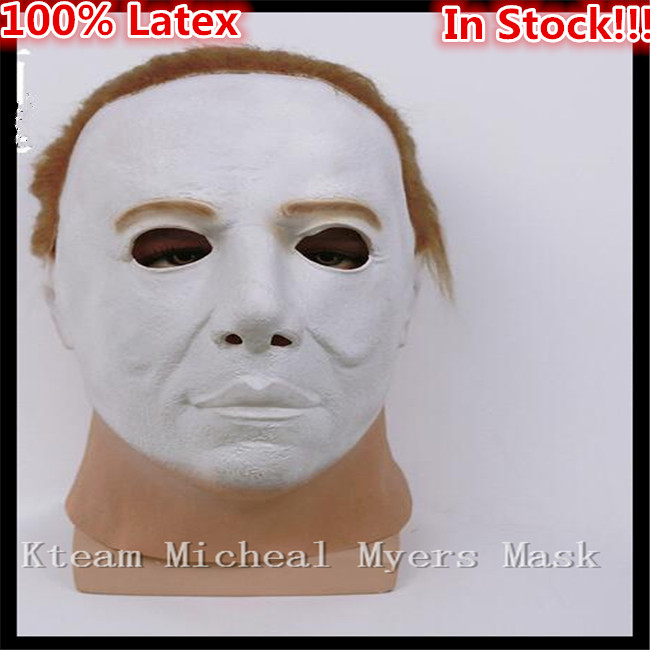 Hot Sale New Fashion Style Halloween Horror Movie Mask Fancy Dress Myers Horror Mask Lat ...