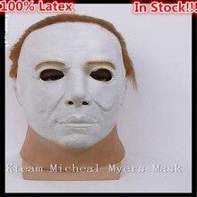 Hot Sale New Fashion Style Halloween Horror Movie Mask Fancy Dress Myers Horror Mask Latex Michael Myers Mask Free shipping