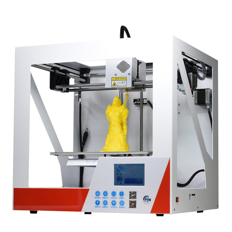 2018 new Two color printing FDM 3D printer prusa i3 3 d printer ship from RU MOSCOW Printer Size 310*310*400mm flsun 3d printer big pulley kossel 3d printer with one roll filament sd card fast shipping