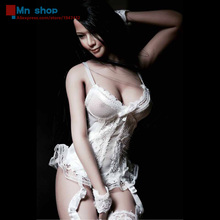 1/6 Lace Corset with Gartering Stockings VERYCOOL VCF2016 C White fit 12″ Action Figure Body