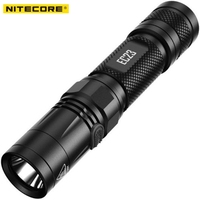 NITECORE EC23 Flashlight 1800 lumen Waterproof Outdoor Camping Hiking Portable Torch & Rechargeable 18650 Battery & UM10 Charger