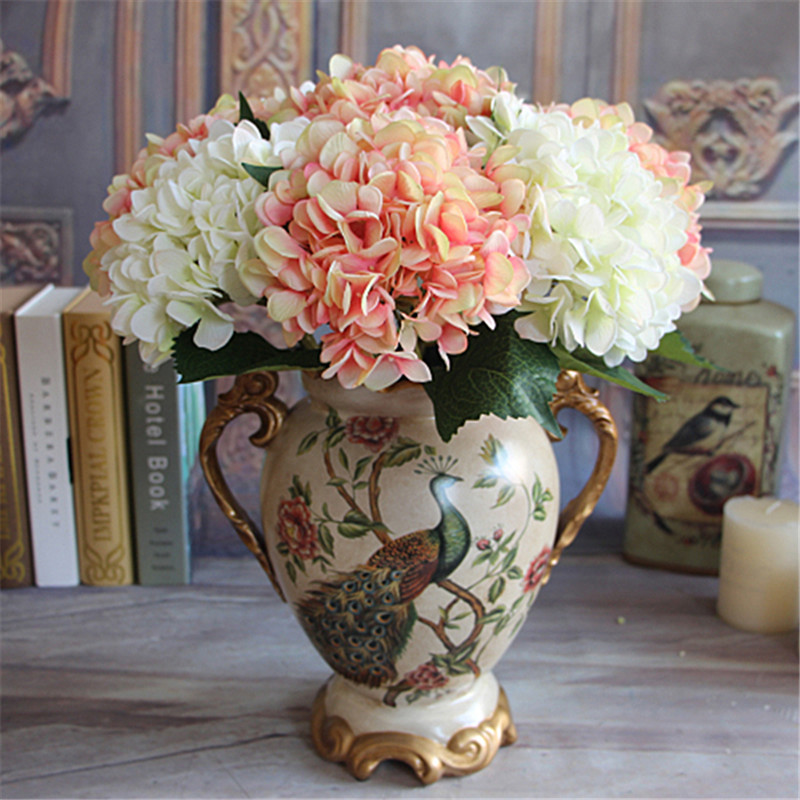 2017 Hot Sale Wine Red Rose Autumn Vintage Artificial Silk Peony ...