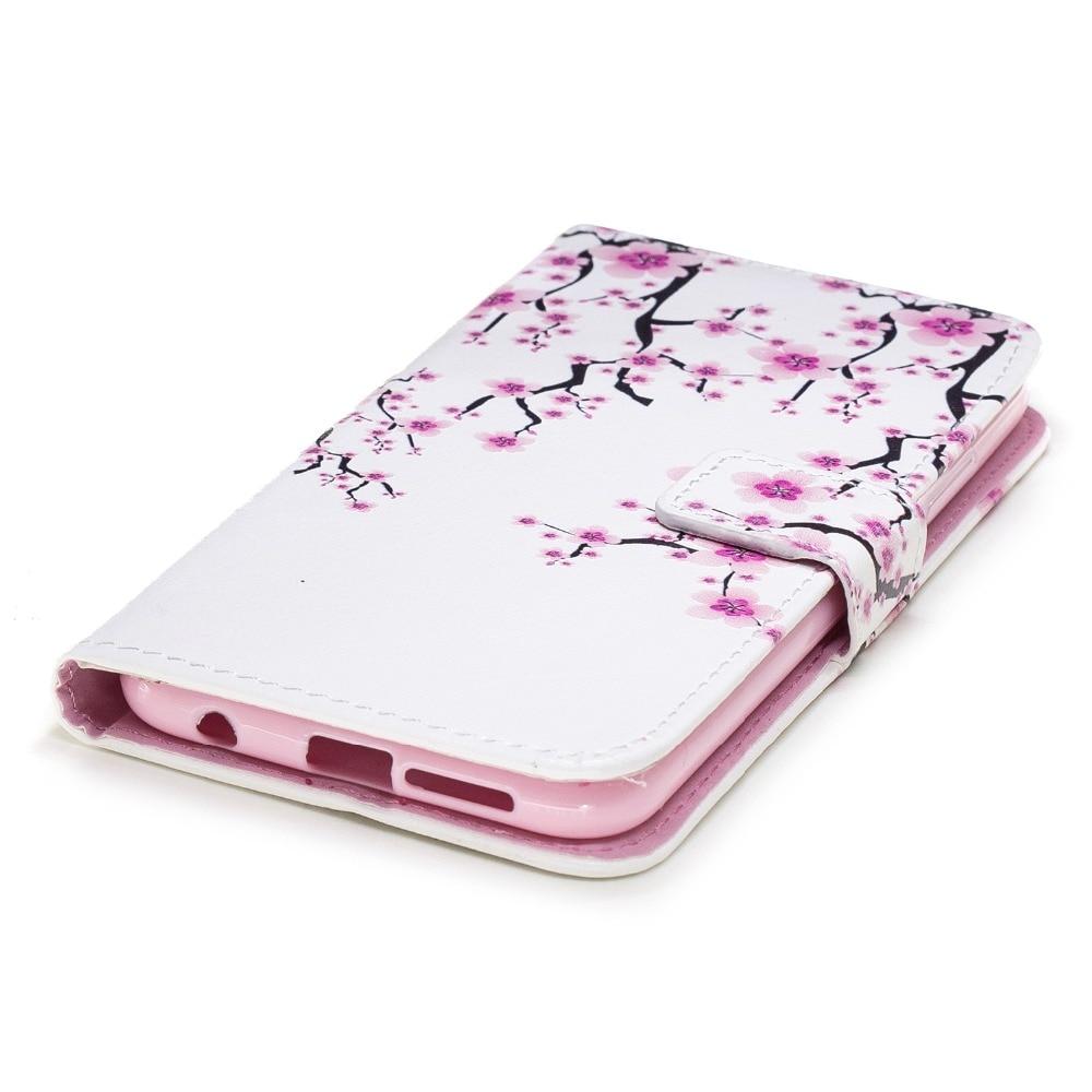 Wallet Flip Case For Huawei Honor 10 7X Mate 9 P20 P10 P9 P8 Lite 2017 Nova Enjoy 7S P Smart Y5 Y6 II Card Slot Phone Cover B37