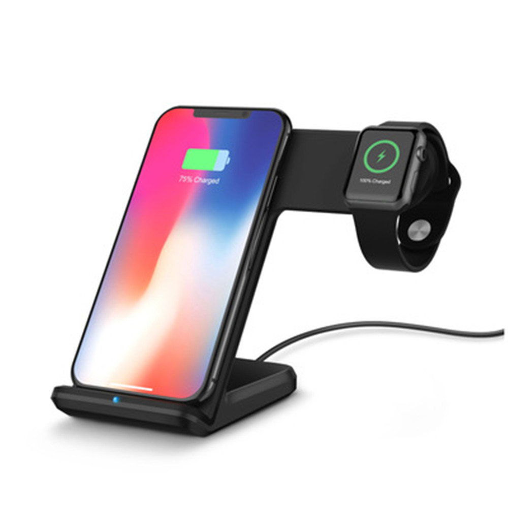 2 in 1 charging base stand base Qi wireless charger for iPhone XS Max XR X 8 samsung galaxy J5 J7 S5 S7 S8 S9 PLUS note 8 92 in 1 charging base stand base Qi wireless charger for iPhone XS Max XR X 8 samsung galaxy J5 J7 S5 S7 S8 S9 PLUS note 8 9
