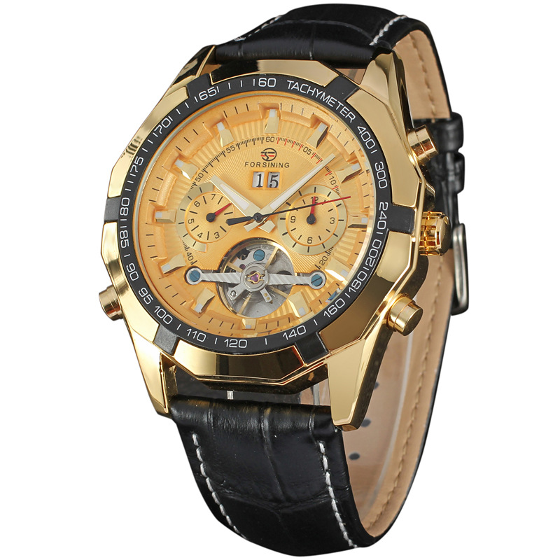 2016 Antique Men Watches Military Sports Business Design Wristwatches Mechanical Self Wind Automatic Watches Relogio Masculino