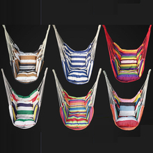Six Designs Outdoor Indoor Hammock Adult Child Swing Chair Can with Cushions Bearing 120KG Chair Hammock Swing Lifts