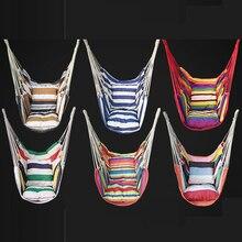 การออกแบบหกกลางแจ้งเปลญวนในร่มผู้ใหญ่เด็กSwingเก้าอี้พร้อมหมอนอิงแบริ่ง120กก.เก้าอี้Hammock Swingลิฟท์